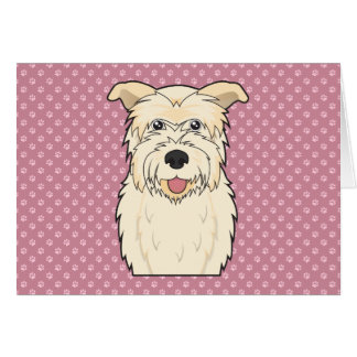 Glen of Imaal Terrier Cartoon Card