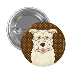 Glen of Imaal Terrier Cartoon Paws Pin