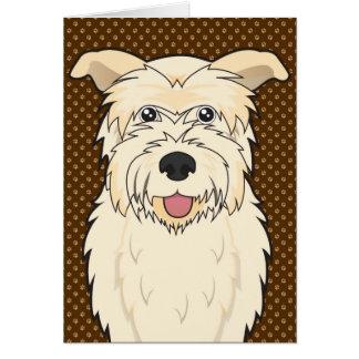 Glen of Imaal Terrier Cartoon Paws Card