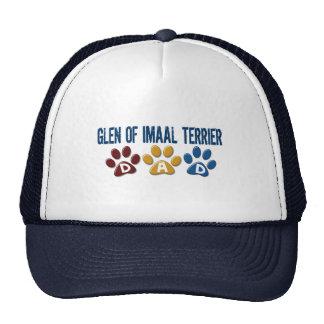 GLEN OF IMAAL TERRIER Dad Paw Print 1 Trucker Hat
