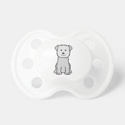 Glen of Imaal Terrier Dog Cartoon BooginHead Pacifier