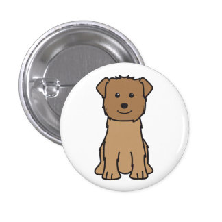 Glen of Imaal Terrier Dog Cartoon Pins