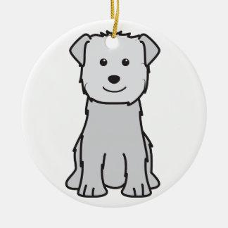 Glen of Imaal Terrier Dog Cartoon Christmas Tree Ornaments