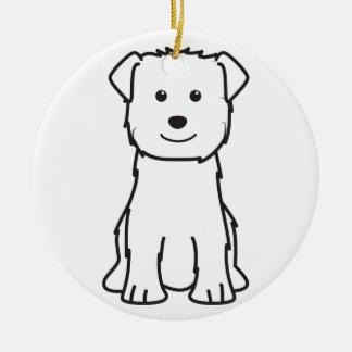 Glen of Imaal Terrier Dog Cartoon Ornaments