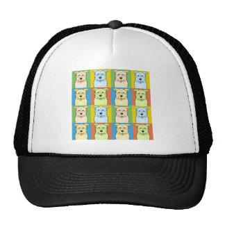 Glen of Imaal Terrier Dog Cartoon Pop-Art Trucker Hat