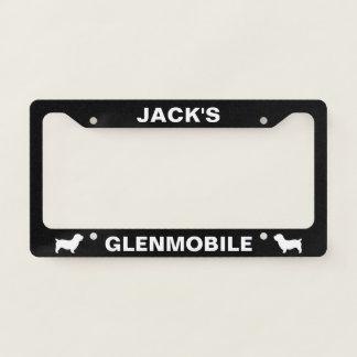 Glen of Imaal Terrier Glenmobile Custom License Plate Frame