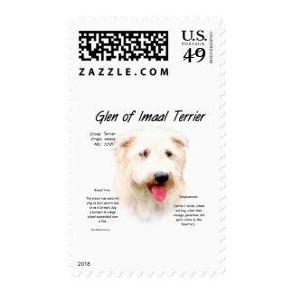 Glen of Imaal Terrier History Design Postage
