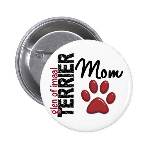Glen Of Imaal Terrier Mom 2 Pinback Button