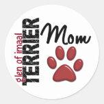 Glen Of Imaal Terrier Mom 2 Stickers