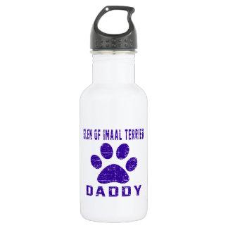 Glen of Imaal Terrier Mom Designs Stainless Steel Water Bottle