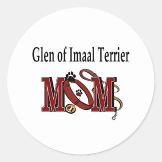 Glen Of Imaal Terrier Mom Sticker