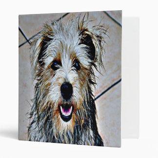 Glen of Imaal Terrier Pop Art Binder
