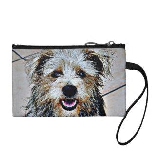 Glen of Imaal Terrier Pop Art Change Purse