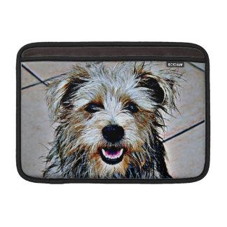 Glen of Imaal Terrier Pop Art Sleeve For MacBook Air