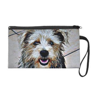 Glen of Imaal Terrier Pop Art Wristlet