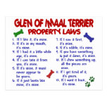 GLEN OF IMAAL TERRIER Property Laws Postcard