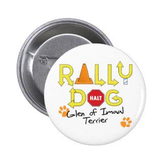 Glen of Imaal Terrier Rally Dog Pinback Button