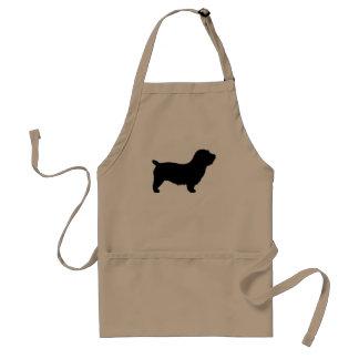 Glen of Imaal Terrier Silhouette Adult Apron
