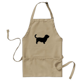 Glen of Imaal Terrier Silhouette Adult Apron
