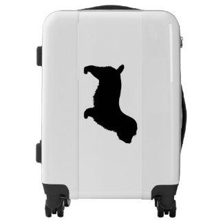 Glen of Imaal Terrier Silhouette Luggage