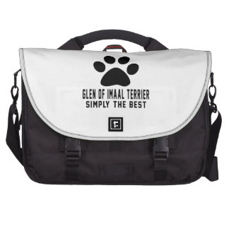 Glen of Imaal Terrier Simply the best Laptop Bag