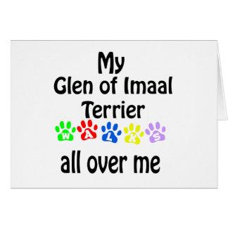 Glen of Imaal Terrier Walks Design Card