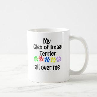 Glen of Imaal Terrier Walks Design Coffee Mug