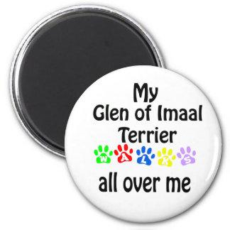 Glen of Imaal Terrier Walks Design Magnet