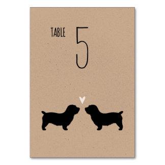 Glen of Imaal Terriers Wedding Table Card