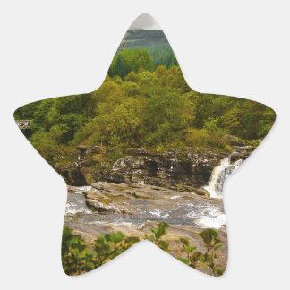 Glen Orchy Scotland Star Sticker