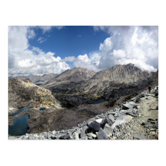 Glen Pass over Rae Lakes - John Muir Trail Postcard