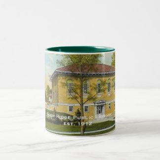 Glen Ridge Library Vintage Postcard Mug