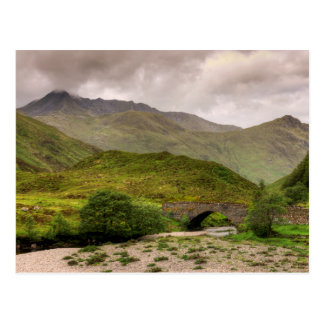 Glen Shiel Highland Landscape Postcard