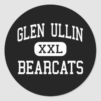 Glen Ullin - Bearcats - High - Glen Ullin Classic Round Sticker