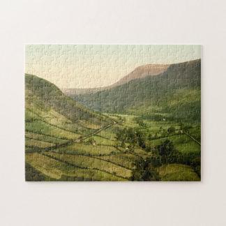 Glenariff, condado Antrim, Irlanda del Norte Puzzles Con Fotos