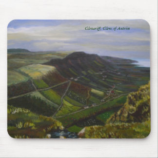 Glenariff Oil Painting by Joanne Casey - Mousemat Mouse Pad