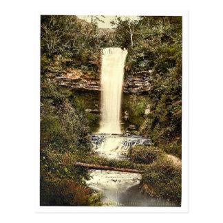 Glencar Fall. Co. Sligo, Ireland classic Photochro Postcard
