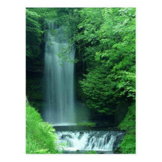 glencar lough falls postcard