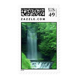 Glencar Waterfall Postage