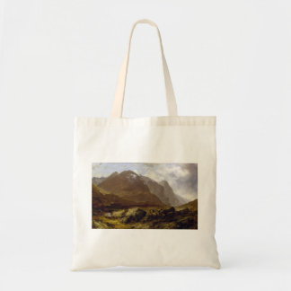 Glencoe by Horatio McCulloch Tote Bags