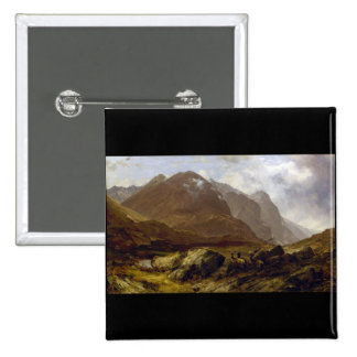 Glencoe by Horatio McCulloch Buttons