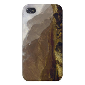 Glencoe by Horatio McCulloch iPhone 4 Cover
