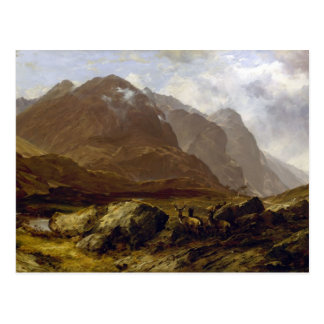 Glencoe by Horatio McCulloch Postcard