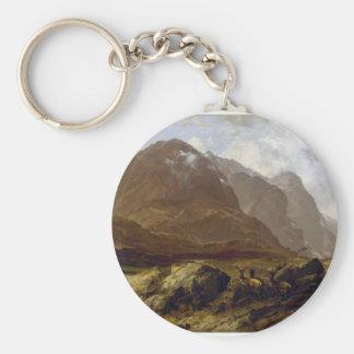 Glencoe by McColluch Key Chain