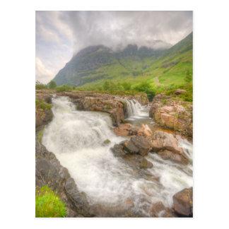 Glencoe Landscape Postcard