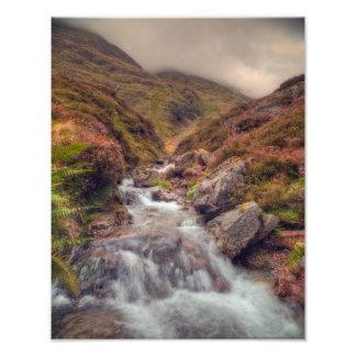 Glencoe Mountain Stream Photo Print