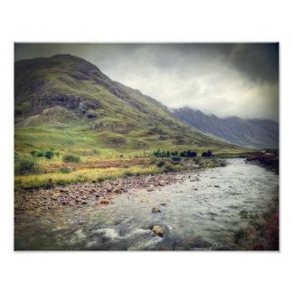 Glencoe Photo Print