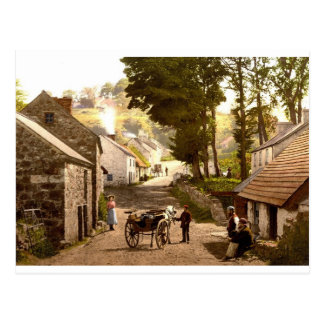 Glencoe Village_Ireland Postcard