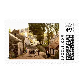 Glencoe Village_Ireland Sello