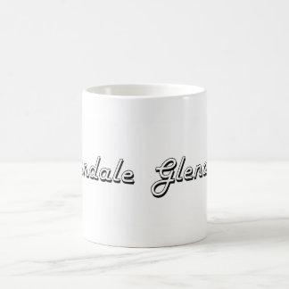 Glendale Arizona Classic Retro Design Classic White Coffee Mug